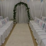 Dean Row Ceremony set up