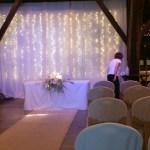 Rivington Barn venue dressing