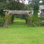 Ceremony setting at Moss Wood