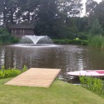 Lake and Guest House