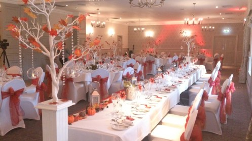 Mottram Hall venue dressing