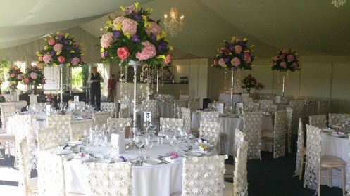Floral Chair Covers