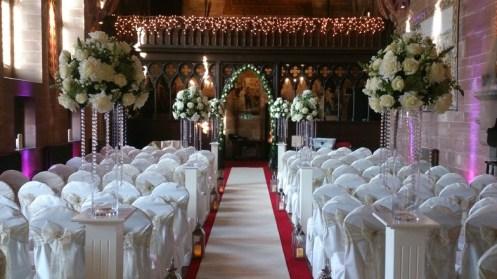 Peckforton Castle venue dressing