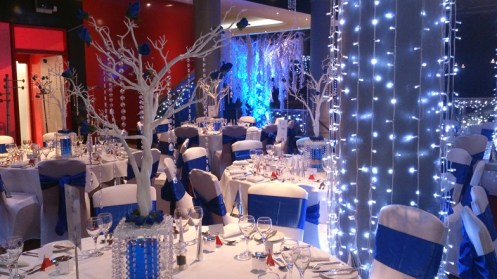 The Place Hotel venue dressing