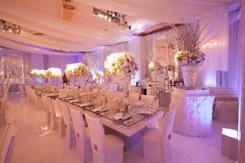 venue dressing for winter weddings