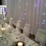 Thistle Hotel Haydock wedding venue dressing