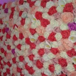 flower wall for hire