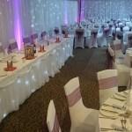 wedding venue draping