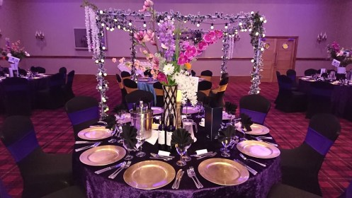Venue Dressing In Cheshire And Manchester Woodyatt Warner