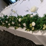 Top table garland