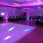 wedding venue lighting