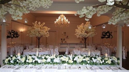 venue dressing ashfield house