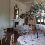 Large floral centrepieces