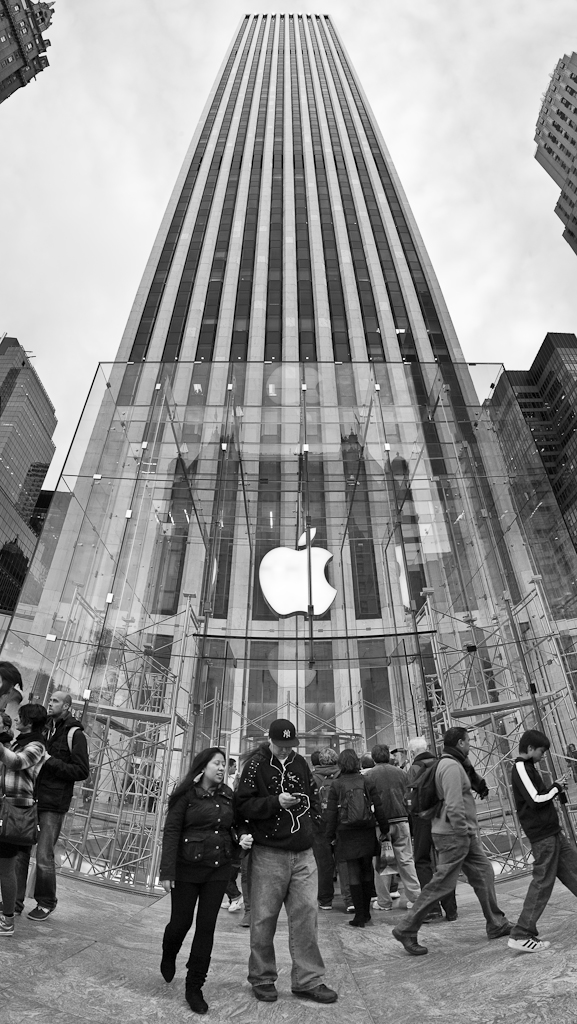 The Fifth Avenue Apple Store