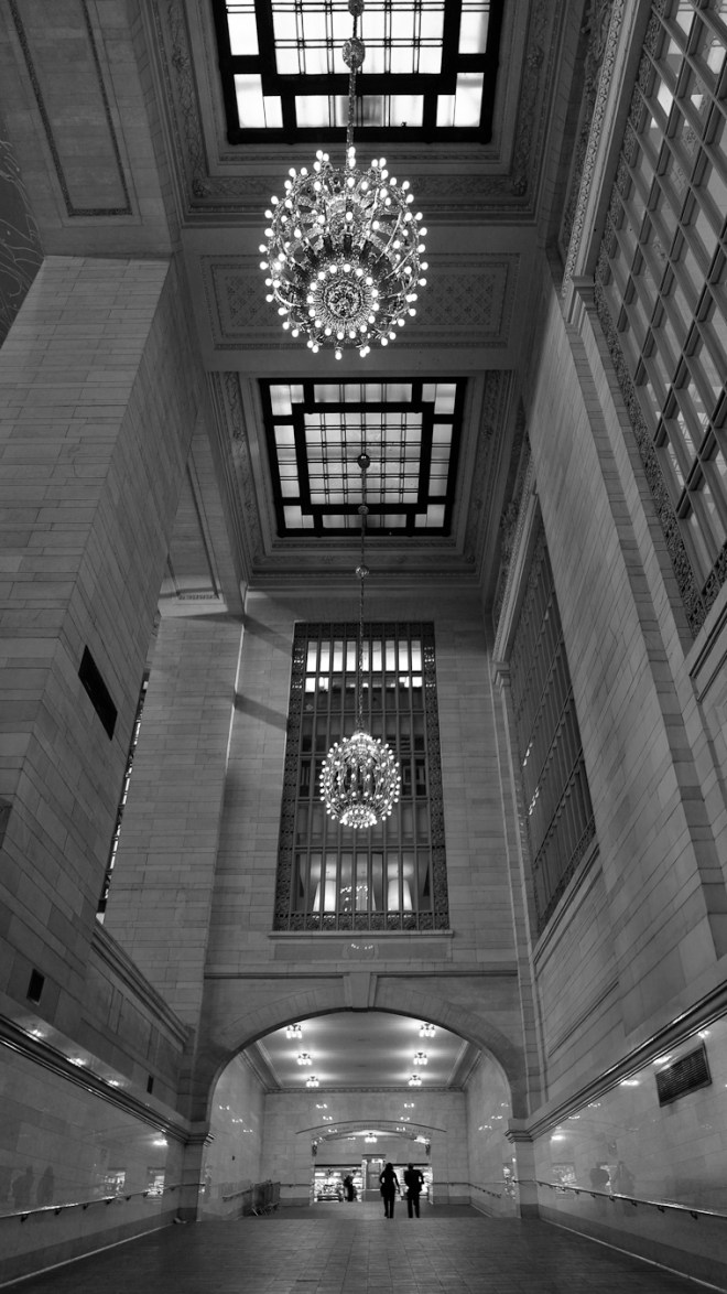 Grand Central Terminal -ramp from the lower level