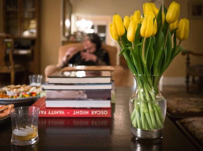 Dinner with Phyllis Grann
