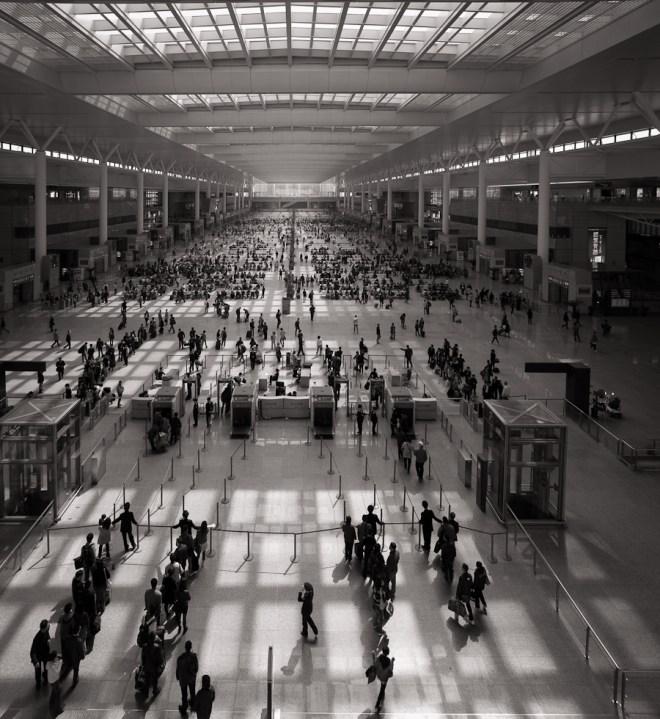 Rail terminal Shanghai