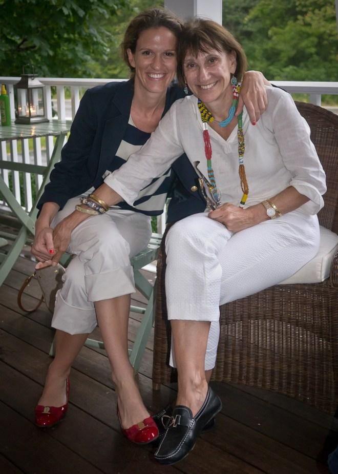 Maria and Francesca
