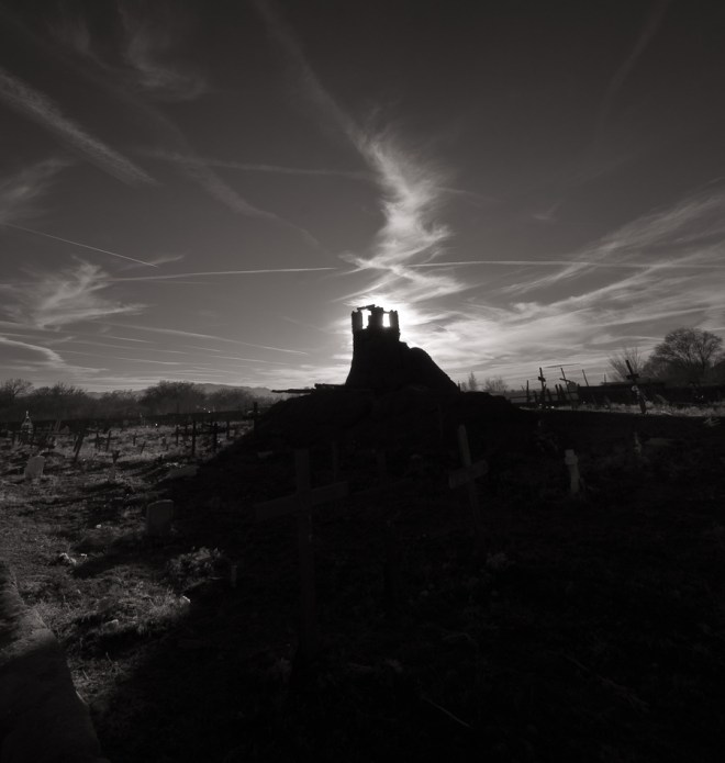Cemetery Taos Pueblo