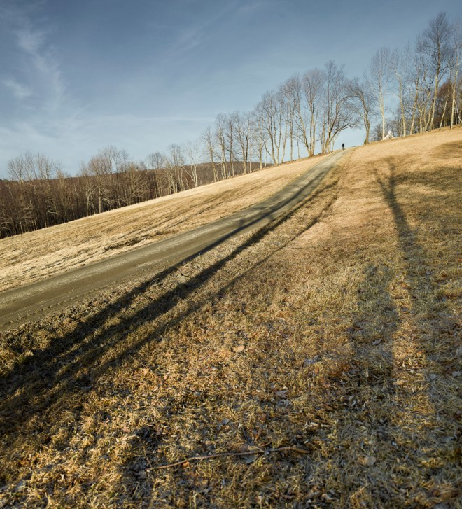 Winter field Warren