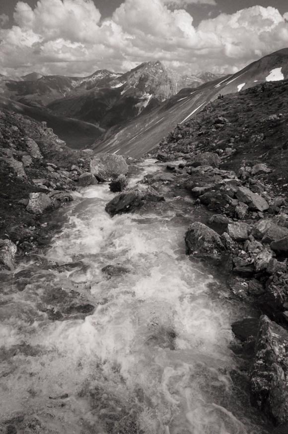 -Glacier melt