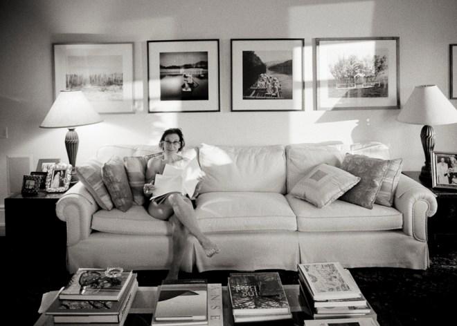 Maria reading