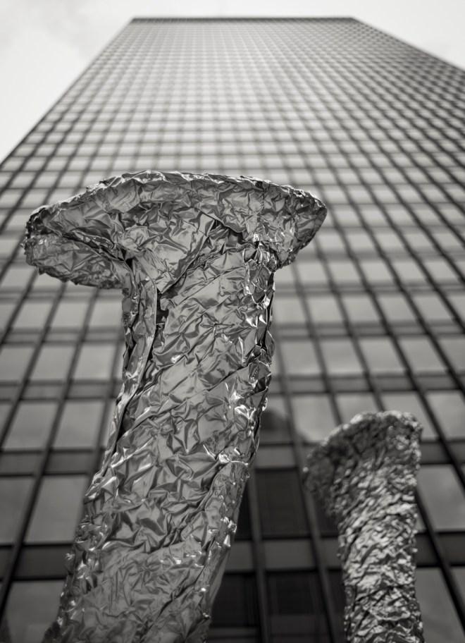 John Chamberlain sculpture