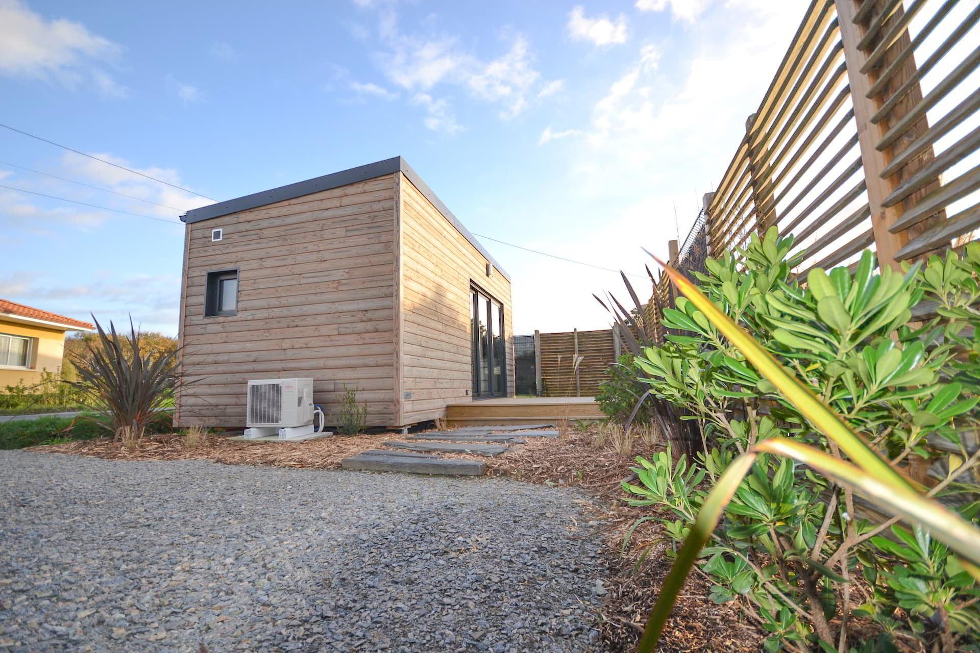 studio de jardin a la tiny house bois