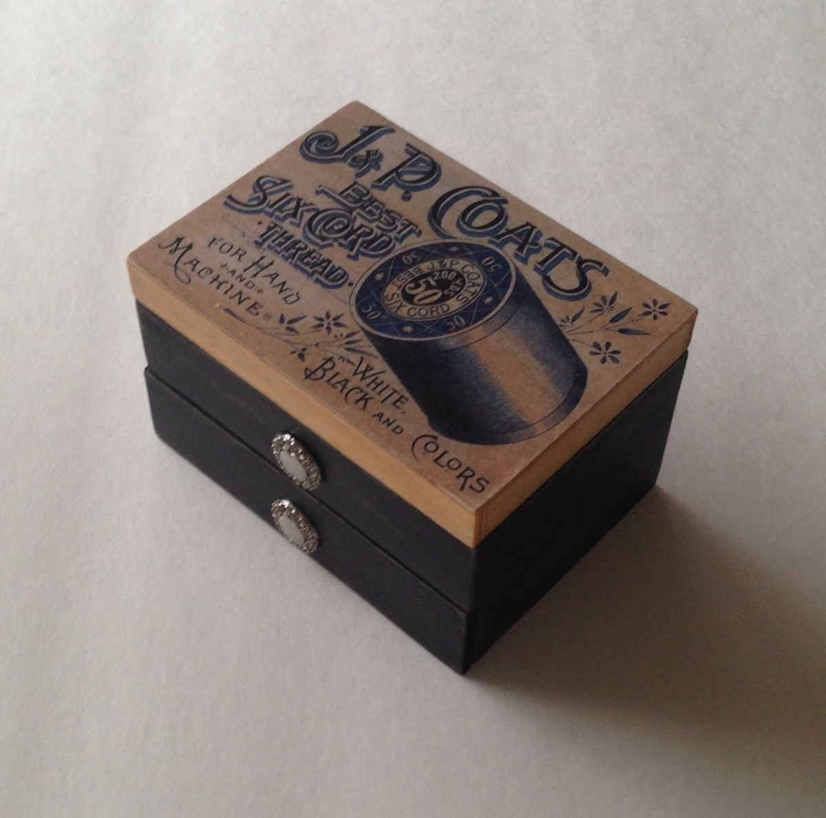 personalized sewing kit wooden keepsake box with pull out drawer  u2013 woody things  llc