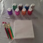 Kids Canvas DIY
