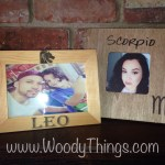 Zodiac Sign Picture Frame