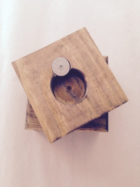 Bottle Opener Coaster Set of 4