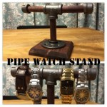 Pipe Watch Stand (wood design)