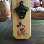 Mickey Mouse Wall Mounted Bottle Opener