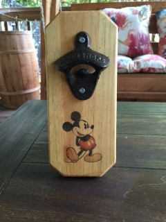 Mickey Mouse Wall Mounted Bottle Opener