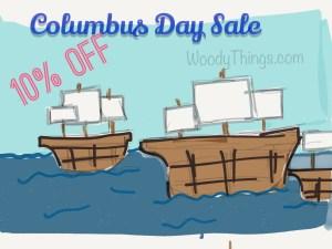 Columbus Day Sale