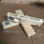 Stubby WoodyThings Bottle Openers