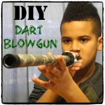 DIY Dart Blowgun Square