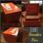 Giant Sneaker Box Collage