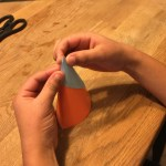 Make Cone using Party Hat Template