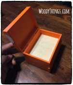 Sneaker Keepsape Mini Box Open Lid