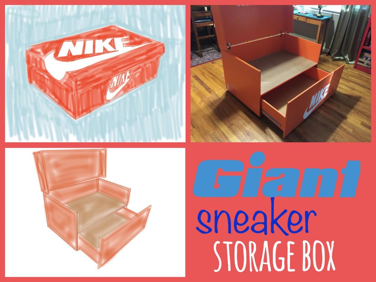 Giant Sneaker Box ...