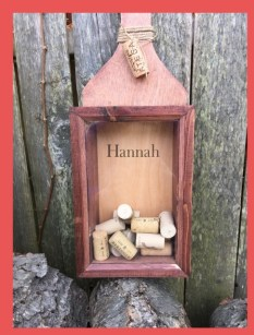Wine Cork Holder personalized