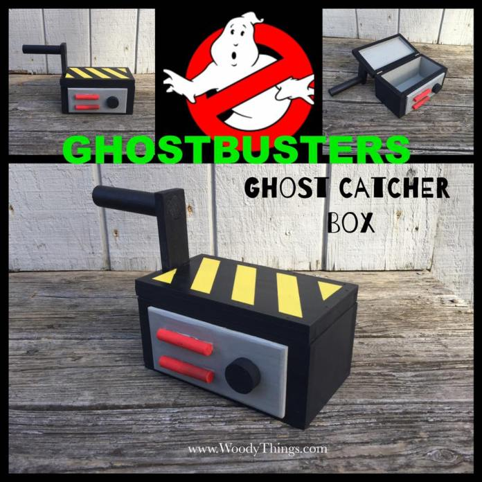 Ghostbusters Inspired Ghost Trap Box