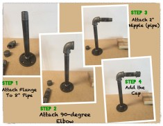 Industrial Pipe Headphone Stand Collage_Fotor