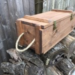 WoodyThings Ammo Crate Chest Side vide