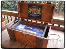 WoodyThings Military Chest and Shadow Box 1
