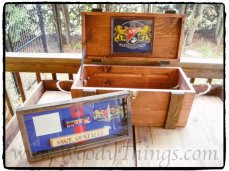 WoodyThings Military Chest and Shadow Box 2
