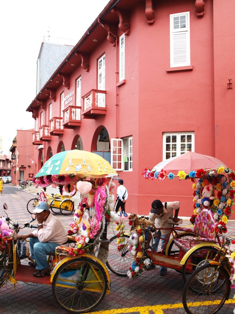 The Malaysian city of Malacca has lots of Dutch influences
