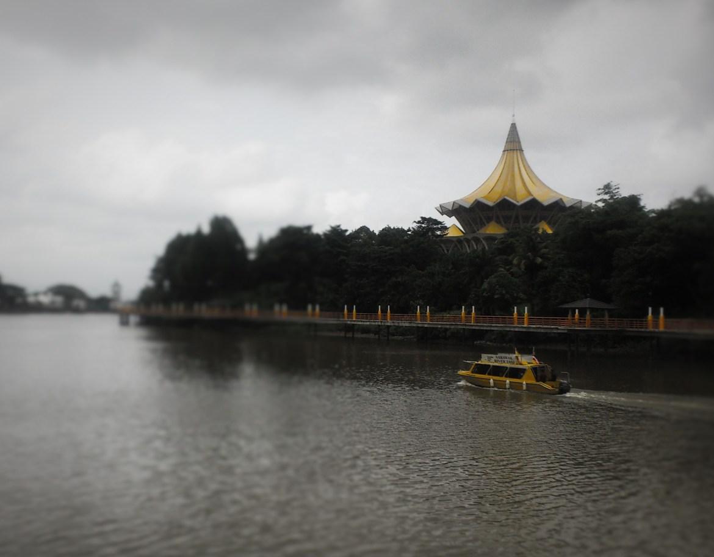 Borneo Kuching waterfront